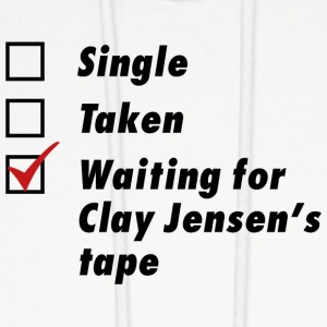 Waiting for Clay Jensen's tape - Men's Hoodie