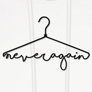 NEVER AGAIN - Men's Hoodie