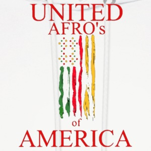 UNITED AFRO'S OF AMERICA - Men's Hoodie
