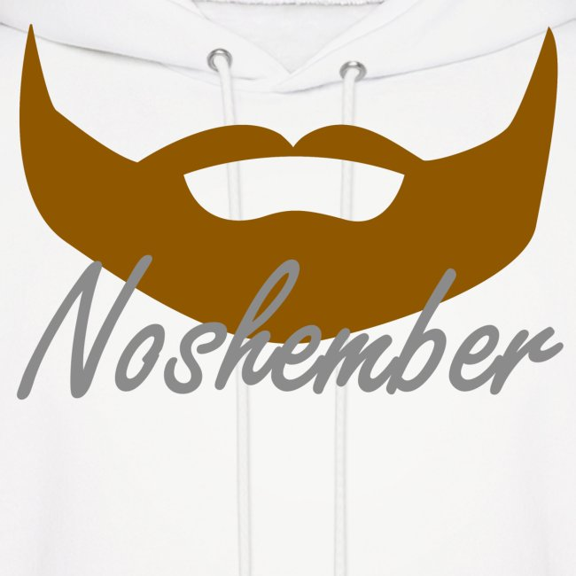 Noshember Bearded Hoodie