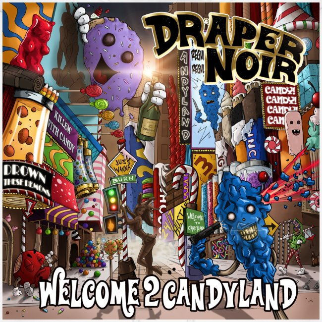 Welcome 2 Candyland Cover