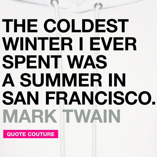 The coldest winter (men -- bags -- big)
