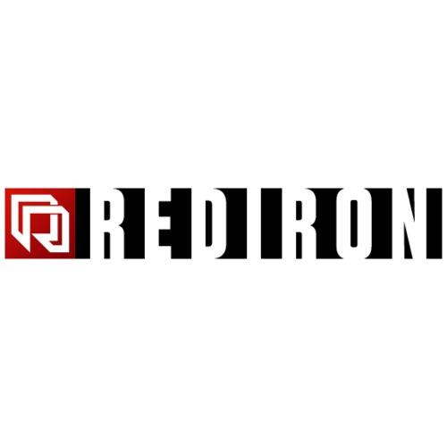 Red Iron Horizontal Duo Logo (Black)