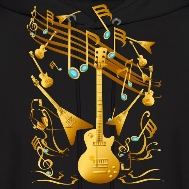 Gold Guitar Party