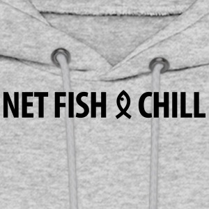 Netfish and Chill 1 - Men's Hoodie