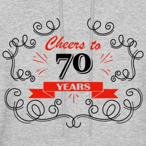 Cheers to 70 years - Men's Hoodie
