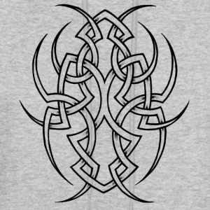 Tribal tattoo 1 - Men's Hoodie