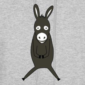ass donkey jackass moke animal pet - Men's Hoodie