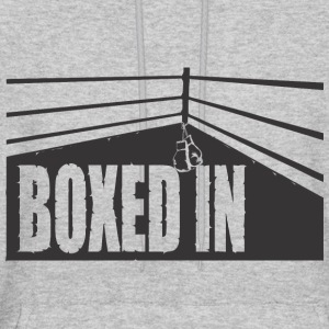 boxed in black - Men's Hoodie
