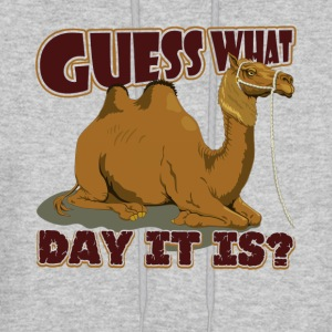 Guess What Day It Is Camel Hump Day T Shirt - Men's Hoodie