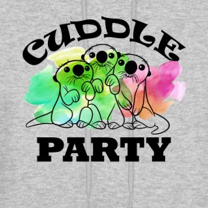 Otter Cuddle Party Shirt - Men's Hoodie