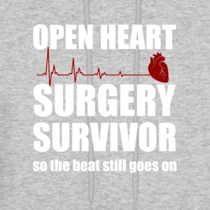 openheart surgery survivor - Men's Hoodie