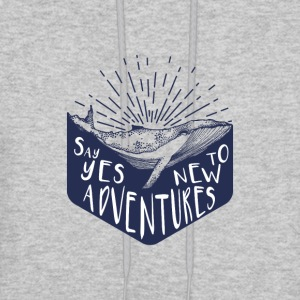Adventure - Say yes to new adventure Products - Men's Hoodie