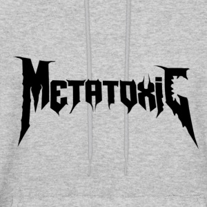 METATOXIC Text Logo (Black) - Men's Hoodie