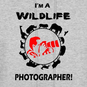 WILDLIFE PHOTOGRAPHER - Men's Hoodie