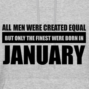 All men were created equal January designs - Men's Hoodie