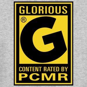 Content Rated Glorious by PC Master Race T Shirt - Men's Hoodie