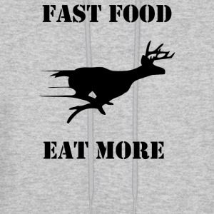 Fast Food Eat More - Men's Hoodie