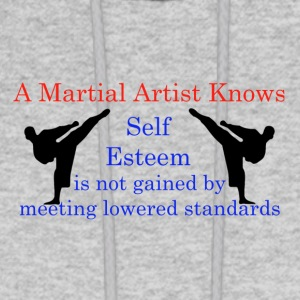 A Martial Arts Knows #1 - Kicks - Men's Hoodie
