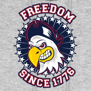 FREEDOM EAGLE Freedom since 1776 - Men's Hoodie