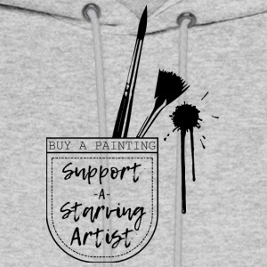 Support a Starving artist (2) - Men's Hoodie