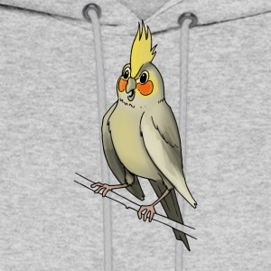 parakeet finch budgerigar budgie parot dove bird - Men's Hoodie