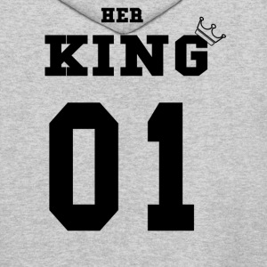 Black Her King - Men's Hoodie