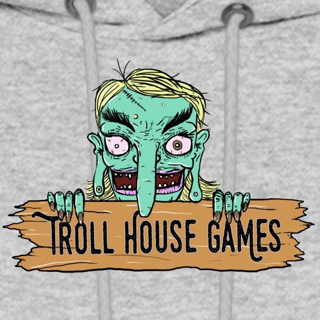 Troll House Games Cartoon Logo