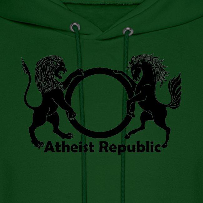 Atheist Republic Logo - Black