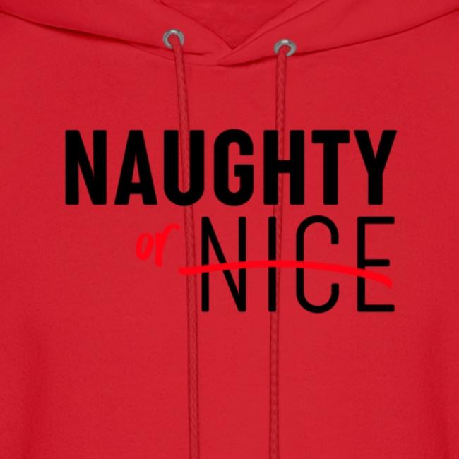 Naughty Or Nice Adult Humor Design
