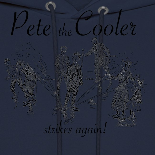 Pete the Cooler Strikes Again (black ink)