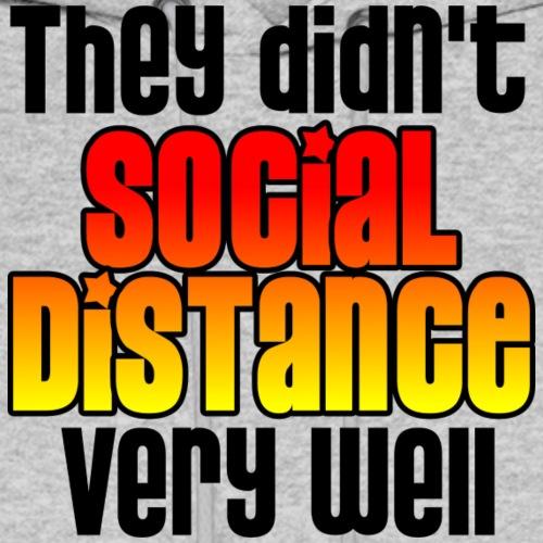 Baby Social Distance - Men's Hoodie