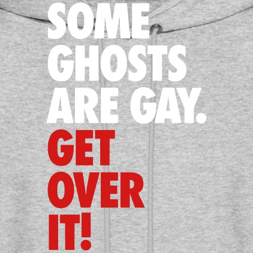 'Get over It' Gay Ghosts - Men's Hoodie