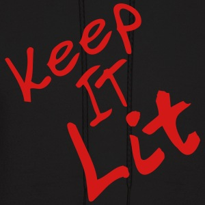 keep it lit - Men's Hoodie