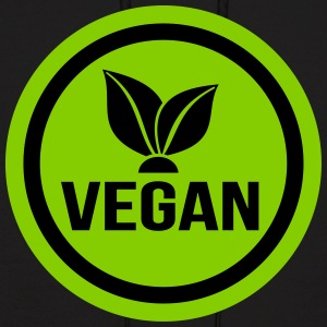 vegan food sign - Men's Hoodie