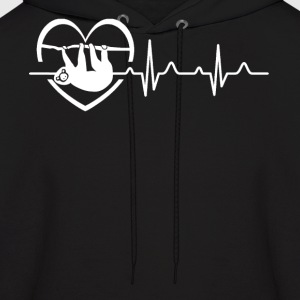 Sloth Heartbeat Shirt - Men's Hoodie