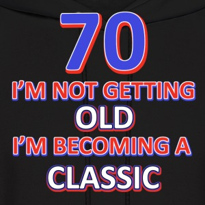 70th birthday design - Men's Hoodie