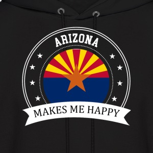Arizona Makes Me Happy - Men's Hoodie