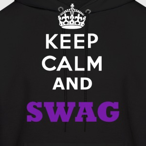 keep calm And Swag - Men's Hoodie