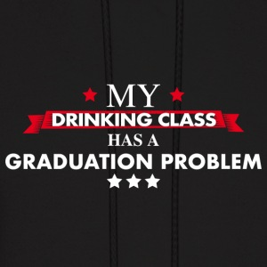 Graduation Class Drinking Team - Men's Hoodie