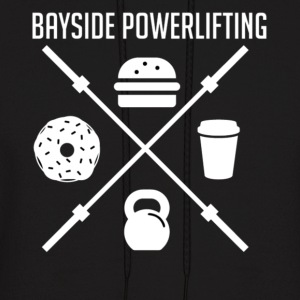 Bayside Powerlifting Lift to Eat - Men's Hoodie
