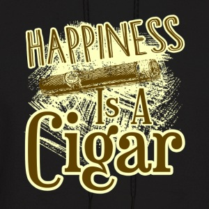 CIGAR HAPPINESS SHIRT - Men's Hoodie