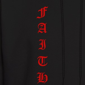 Faith Text - Men's Hoodie