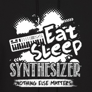 EAT SLEEP SYNTHESIZER SHIRT - Men's Hoodie