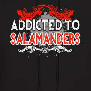 ADDICTED TO SALAMANDERS SHIRT - Men's Hoodie