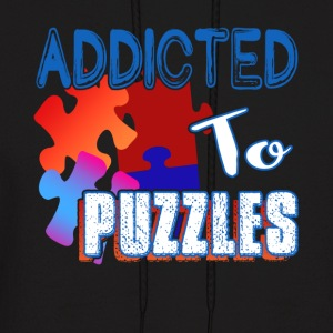 ADDICTED TO PUZZLE SHIRT - Men's Hoodie