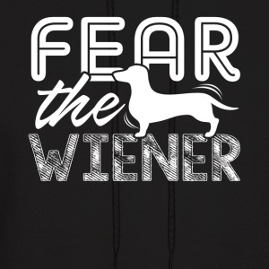 FEAR THE WIENER SHIRT - Men's Hoodie