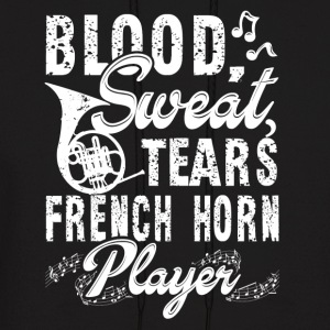 FRENCH HORN PLAYER SHIRT - Men's Hoodie