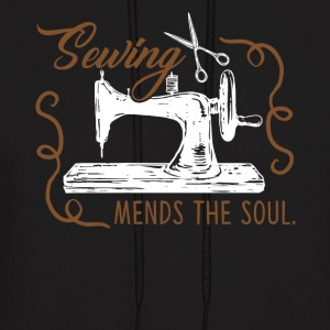 Sewing Mends The Soul Shirt - Men's Hoodie