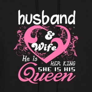 Husband And Wife T Shirt - Men's Hoodie